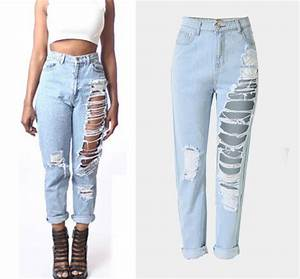 F20147a Latest Fashion Design Women Jeans Denim Jeans Pants With Hole For Ladies - Buy Jeans ...