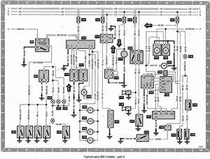 1997 Saab 9000 Diagram