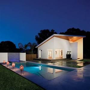 modern pool With jardin et piscine design 11 lampadaire design optez pour une lampe de salon moderne