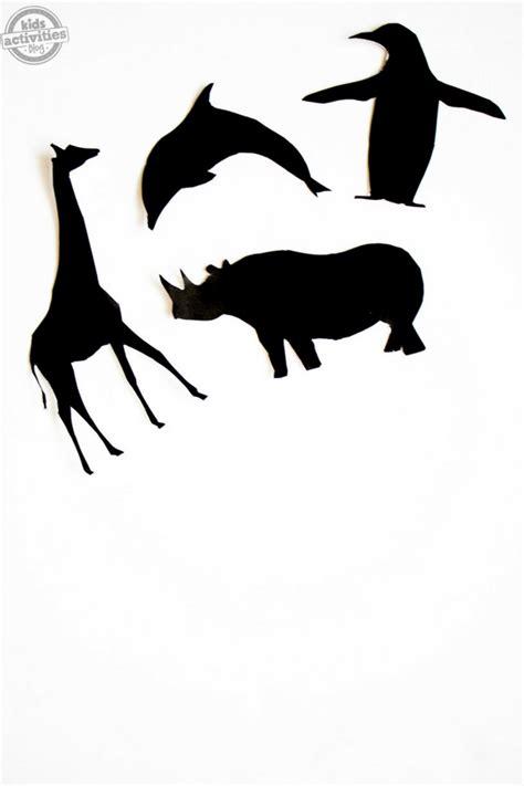 printable animal shadow puppets