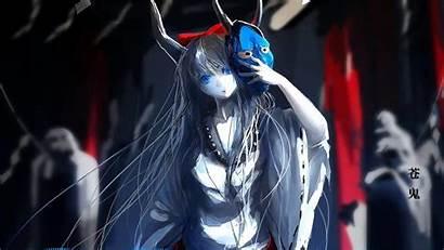 Oni Anime Demons Masks Horns Mask Japanese