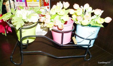 jual tempat pot bunga modelline rak pot tanaman kaktus