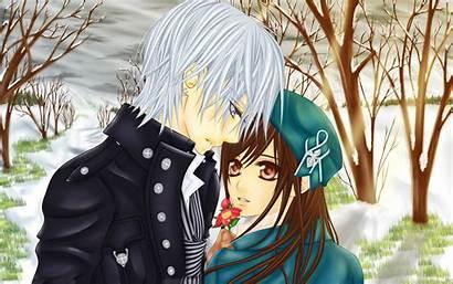 Anime Couple Wallpapers Pixelstalk Vampire Knight Manga