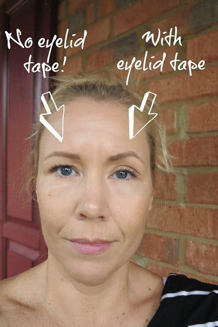 eyelid tape  hooded eyes    work