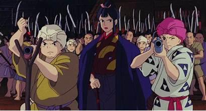 Mononoke Princess Eboshi Lady Villains Village Without
