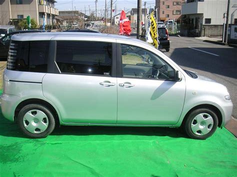 Toyota Sienta Hd Picture by 2004 Toyota Sienta Pictures 1 5l Gasoline Ff