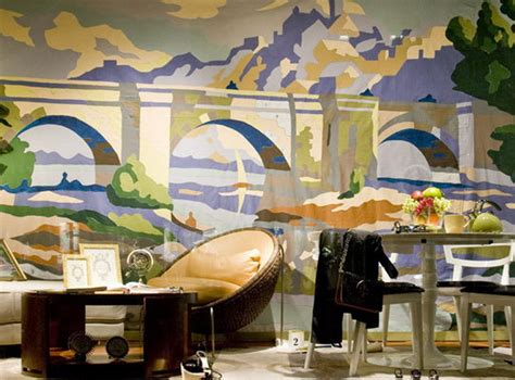 paint by number wall murals do it your self wallpaper mural ideas