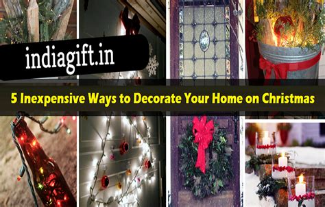 5 Inexpensive Ways To Decorate Your Home On Christmas Home Decorators Catalog Best Ideas of Home Decor and Design [homedecoratorscatalog.us]