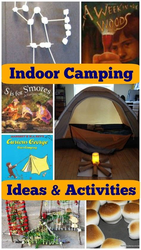 fun indoor camping activities  kids camping