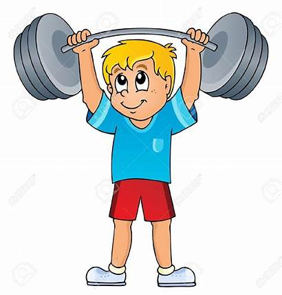 Lifting Weight Clipart Weights Gym Clip Cartoon