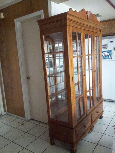 China Cabinet Used used oak wood china cabinet ebay