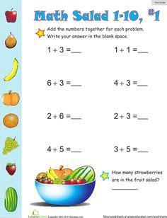 kids printable images math worksheets addition