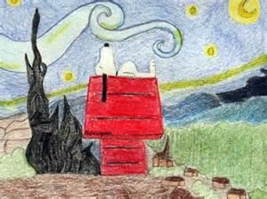 Van Gogh Starry Night Parody