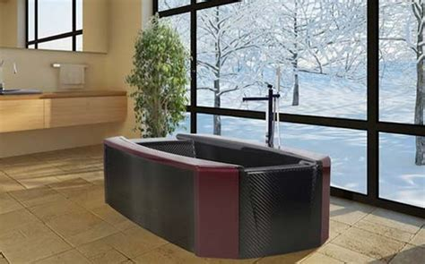 carbon fiber bathtub virgo luxurious carbon fiber bathtub by corcel homecrux