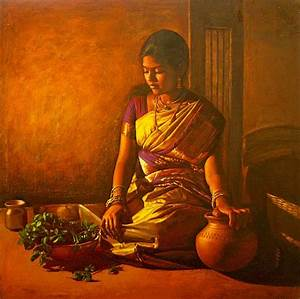 Fine Art and You: 30 Beautiful Paintings by S Ilayaraja ...