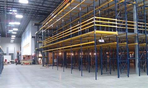 Chinese Mult-tier Industrial Mezzanine Rack Systems