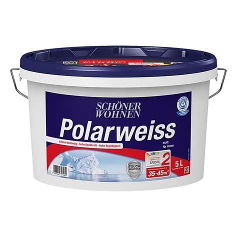 Schöner Wohnen Polarweiss 25 L by Sch 246 Ner Wohnen Polarwei 223 Basismischfarbe 5 L Matt