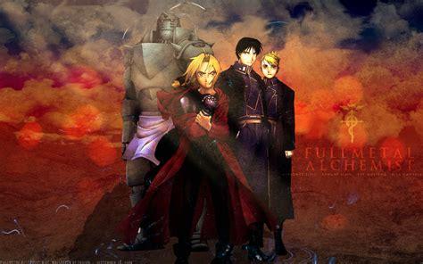 Fullmetal Alchemist Brotherhood Backgrounds Fullmetal Alchemist Brotherhood Wallpaper Hd Wallpapersafari