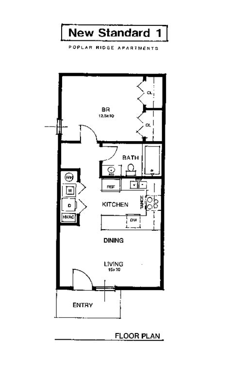 one bedroom flat floor plans apartment rental layout spacious living oversized closets