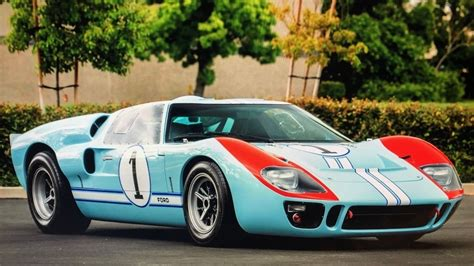 """We all know the story of ford shocking the world and beating ferrari at the 24 hours of le mans in 1966. How You Can Own the 1966 GT40 MKII From the Movie """"Ford v Ferrari"""" 
