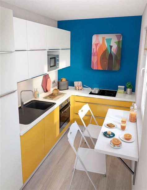 quelle couleur dans une cuisine simple jouez avec la couleur pour dynamiser luespace with