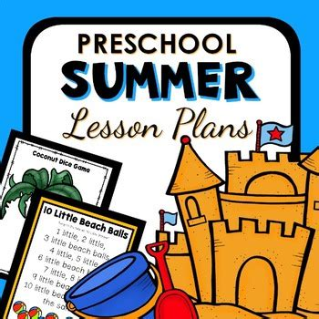 summer theme lesson plans for preschoolers summer theme preschool lesson plans summer activities by 282