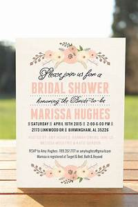unique bridal shower invitation bridal shower   only ...