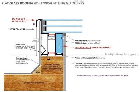 flat slimline roof lights slimline glazing aluminium