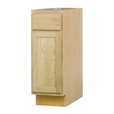 oak kitchen cabinets home depot 12x34 5x24 in base cabinet in unfinished oak b12ohd the