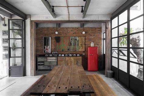 desain interior rumah vintage  unik  menawan