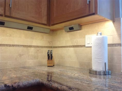 under cabinet lighting with outlets hidden under counter outlets traditional kitchen san
