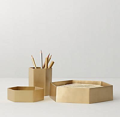 Hexagonal Castbrass Desk Accessories. Long Entry Table. Fridge Drawers Replacement. Desk Monitor Mount. Entry Table Walmart. Desk Organizer Drawer. From The Desk Of Note Cards. Diy Kids Desk. Coffee And End Tables Set