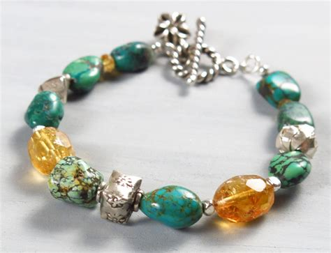 Handmade Nevada Turquoise Bracelet (RARE) | Handmade Jewelry