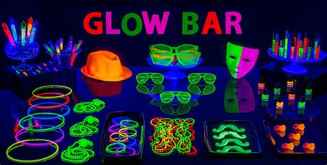 black light glow party black light party supplies glow in the dark party