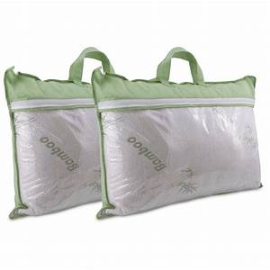 2 pack bamboo pillows With bamboo pillows for sale