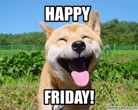 Happy Weekend Meme - happy friday