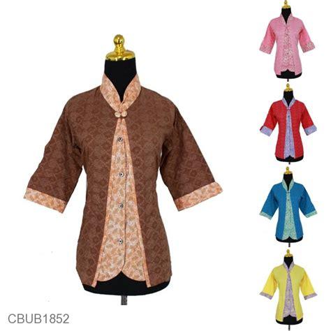 baju koko tanggung anak baju batik blus tanggung 3 4 kombinasi motif sayap burung