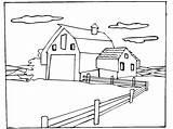 Farm Coloring Dibujos Granja Colorear Animales Pintar Granero Scene Celeiro Ausmalbilder Animal Dibujoswiki Animais Quinta Desenhos Imagen Fattoria Colorare Malvorlagen sketch template