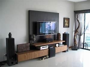 Homeofficedecoration living room lcd tv wall unit design