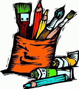 Art Supplies Clipart | Clipart Panda - Free Clipart Images