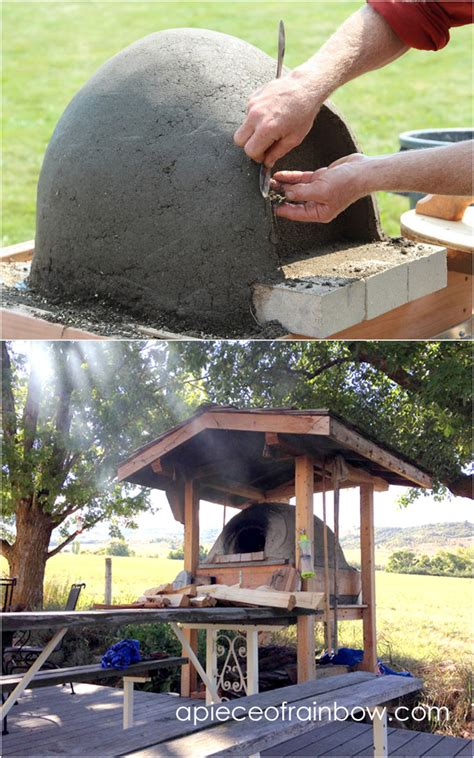 Backyard Pizza Oven Diy diy wood fired outdoor pizza oven simple earth oven in 2