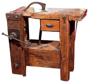 Old Work Bench!  Woodworking Hand Tools Pinterest