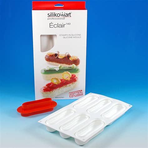 silicone curve flex mold eclair