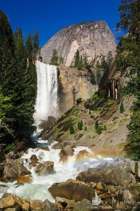 Vernal Fall Hikers The Mist Trail Yosemite