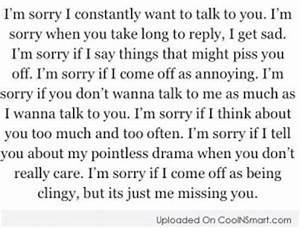 Apology To Girlfriend Quotes. QuotesGram