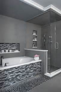 black bathroom tile ideas 25 black and white mosaic bathroom tile ideas and pictures