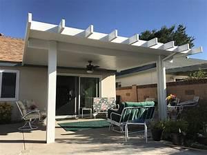 Alumawood Insulated Roofed Patio Cover