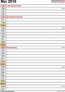 Kalender Juni 2017 Zum Ausdrucken : kalender mai 2016 als excel vorlagen ~ Whattoseeinmadrid.com Haus und Dekorationen