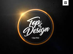 Free Download Modern Badge Logo Design Template  Psd File