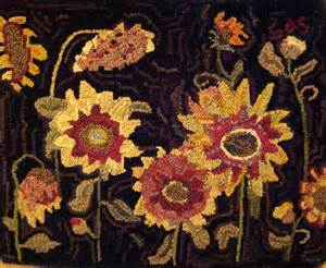 Antique Hand Hooked Rugs by The Merry Hooker Woolens New Rug Hooking Patterns